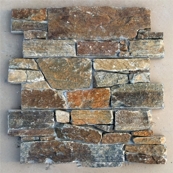 Rusty Quartzite Cultured Stone with Cement on Back2.jpg